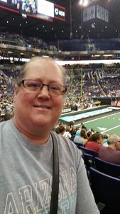 Kristina attended Arizona Rattlers vs. Green Bay Blizzard - IFL on Apr 29th 2017 via VetTix