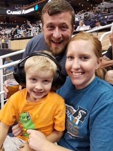 Justin attended Arizona Rattlers vs. Green Bay Blizzard - IFL on Apr 29th 2017 via VetTix