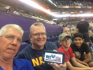 Gary attended Arizona Rattlers vs. Green Bay Blizzard - IFL on Apr 29th 2017 via VetTix