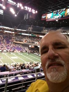 Stephen attended Arizona Rattlers vs. Green Bay Blizzard - IFL on Apr 29th 2017 via VetTix