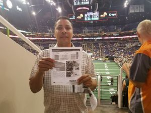 Ian attended Arizona Rattlers vs. Green Bay Blizzard - IFL on Apr 29th 2017 via VetTix