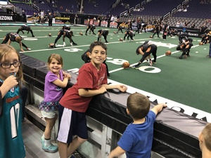 Lucas attended Arizona Rattlers vs. Green Bay Blizzard - IFL on Apr 29th 2017 via VetTix