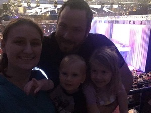 Shawn attended Disney on Ice Presents Follow Your Heart on Apr 27th 2017 via VetTix