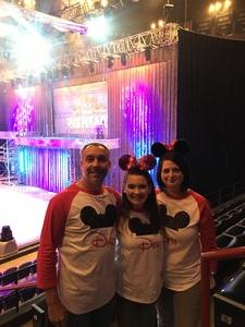 Scott attended Disney on Ice Presents Follow Your Heart on Apr 27th 2017 via VetTix