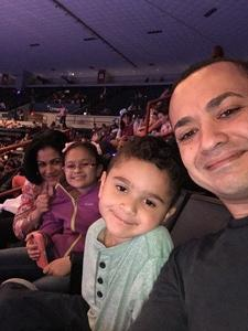 Francis attended Disney on Ice Presents Follow Your Heart on Apr 27th 2017 via VetTix