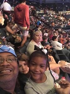 Dwight attended Disney on Ice Presents Follow Your Heart on Apr 27th 2017 via VetTix