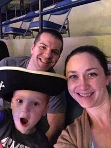 Jeremy attended Disney on Ice Presents Follow Your Heart on Apr 27th 2017 via VetTix