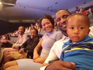 Carlos attended Disney on Ice Presents Follow Your Heart - Friday Night Show on Apr 28th 2017 via VetTix