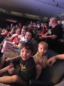 Howard attended Disney on Ice Presents Follow Your Heart - Friday Night Show on Apr 28th 2017 via VetTix