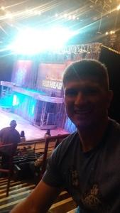 Keith attended Disney on Ice Presents Follow Your Heart - Friday Night Show on Apr 28th 2017 via VetTix