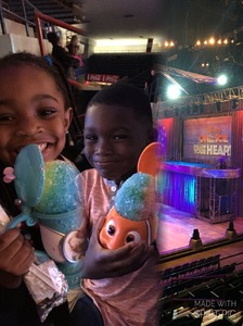 Mel attended Disney on Ice Presents Follow Your Heart - Friday Night Show on Apr 28th 2017 via VetTix