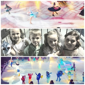 Gina attended Disney on Ice Presents Follow Your Heart - Friday Night Show on Apr 28th 2017 via VetTix