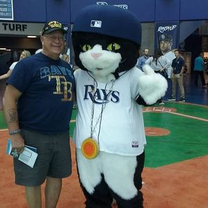 Walter attended Tampa Bay Rays vs. Kansas City Royals - MLB on May 9th 2017 via VetTix