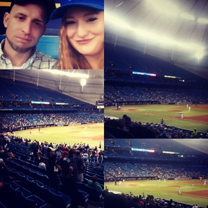 David attended Tampa Bay Rays vs. Kansas City Royals - MLB on May 9th 2017 via VetTix