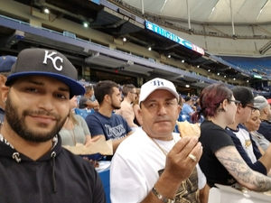 Angel attended Tampa Bay Rays vs. Kansas City Royals - MLB on May 9th 2017 via VetTix