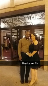 steven attended Gershwin Piano Concerto and Dvorak Symphony No. 6 - Presented by the Chicago Symphony Orchestra on May 27th 2017 via VetTix