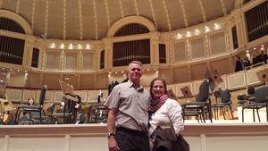 Monica attended Gershwin Piano Concerto and Dvorak Symphony No. 6 - Presented by the Chicago Symphony Orchestra on May 27th 2017 via VetTix