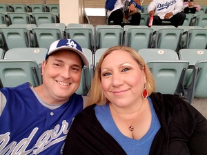 Gregory attended Los Angeles Dodgers vs. Pittsburgh Pirates - MLB on May 9th 2017 via VetTix
