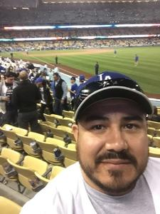 Roberto attended Los Angeles Dodgers vs. Pittsburgh Pirates - MLB on May 9th 2017 via VetTix