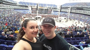 Laurel attended Metallica Worldwired Tour With Special Guest Avenged Sevenfold With Volbeat on May 10th 2017 via VetTix