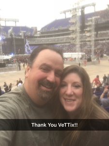 Vincent attended Metallica Worldwired Tour With Special Guest Avenged Sevenfold With Volbeat on May 10th 2017 via VetTix
