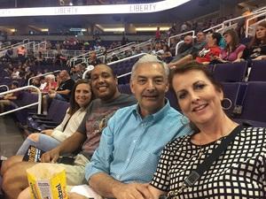 Jack attended Arizona Rattlers vs. Salt Lake Screaming Eagles - IFL on May 20th 2017 via VetTix