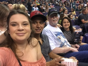 Michelle attended Arizona Rattlers vs. Salt Lake Screaming Eagles - IFL on May 20th 2017 via VetTix