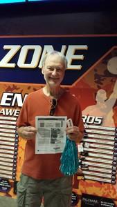 Frank attended Arizona Rattlers vs. Salt Lake Screaming Eagles - IFL on May 20th 2017 via VetTix
