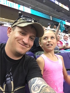 Clifford attended Arizona Rattlers vs. Salt Lake Screaming Eagles - IFL on May 20th 2017 via VetTix