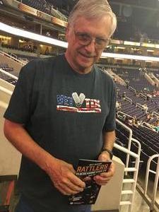 William attended Arizona Rattlers vs. Salt Lake Screaming Eagles - IFL on May 20th 2017 via VetTix