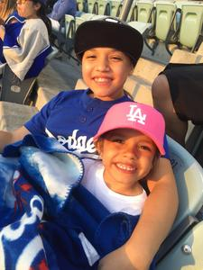 Ruby attended Los Angeles Dodgers vs. St. Louis Cardinals - MLB on May 24th 2017 via VetTix