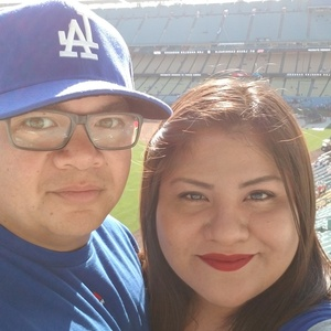 Jimmy attended Los Angeles Dodgers vs. St. Louis Cardinals - MLB on May 24th 2017 via VetTix