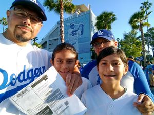Robert attended Los Angeles Dodgers vs. St. Louis Cardinals - MLB on May 24th 2017 via VetTix