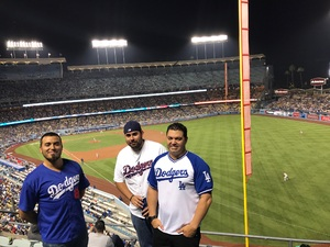 Andrew attended Los Angeles Dodgers vs. St. Louis Cardinals - MLB on May 24th 2017 via VetTix