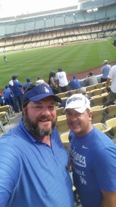 Dean attended Los Angeles Dodgers vs. St. Louis Cardinals - MLB on May 24th 2017 via VetTix