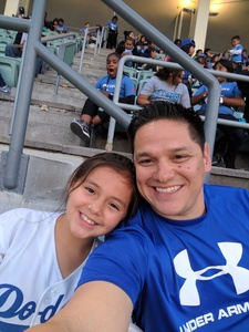 Jason attended Los Angeles Dodgers vs. St. Louis Cardinals - MLB on May 24th 2017 via VetTix