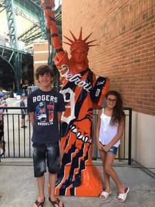 Sergio attended Detroit Tigers vs. Tampa Bay Rays - MLB on Jun 18th 2017 via VetTix
