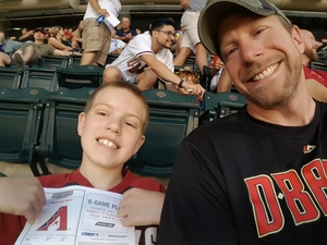Christopher attended Arizona Diamondbacks vs. Milwaukee Brewers - MLB on Jun 10th 2017 via VetTix