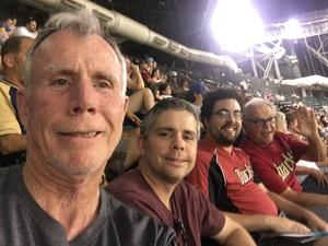 Dennis attended Arizona Diamondbacks vs. Milwaukee Brewers - MLB on Jun 10th 2017 via VetTix
