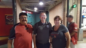 Gonzalo attended Arizona Diamondbacks vs. Milwaukee Brewers - MLB on Jun 10th 2017 via VetTix