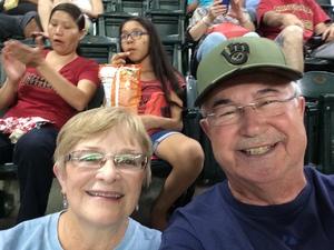 Robert attended Arizona Diamondbacks vs. Milwaukee Brewers - MLB on Jun 10th 2017 via VetTix