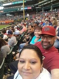 David attended Arizona Diamondbacks vs. Milwaukee Brewers - MLB on Jun 10th 2017 via VetTix