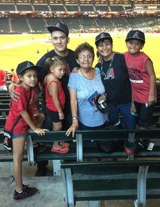 Steve attended Arizona Diamondbacks vs. Milwaukee Brewers - MLB on Jun 10th 2017 via VetTix