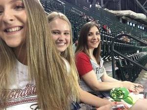 Shawn attended Arizona Diamondbacks vs. Milwaukee Brewers - MLB on Jun 10th 2017 via VetTix