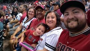Sean attended Arizona Diamondbacks vs. Milwaukee Brewers - MLB on Jun 10th 2017 via VetTix