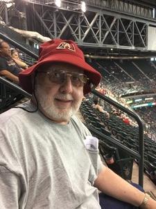 Thomas attended Arizona Diamondbacks vs. Milwaukee Brewers - MLB on Jun 10th 2017 via VetTix