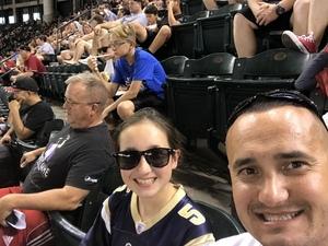 Curtis attended Arizona Diamondbacks vs. Philadelphia Phillies - MLB on Jun 24th 2017 via VetTix
