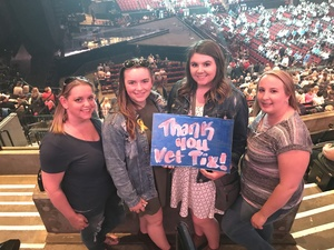 Jenna attended Soul2Soul the World Tour 2017 on May 26th 2017 via VetTix
