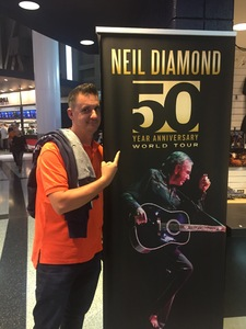 Heath attended Neil Diamond - the 50 Year Anniversary World Tour on Jun 2nd 2017 via VetTix