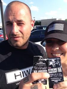 Ericka attended Xtreme Knockout 36 - General Admission - Standing Room - Live Mixed Martial Arts on Jun 10th 2017 via VetTix